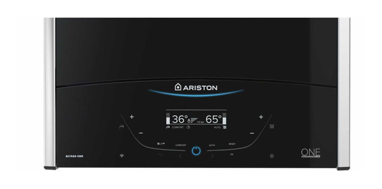 Slika Plinski kondenzacijski kombi bojler 35 kW -  Ariston Alteas One Net paket